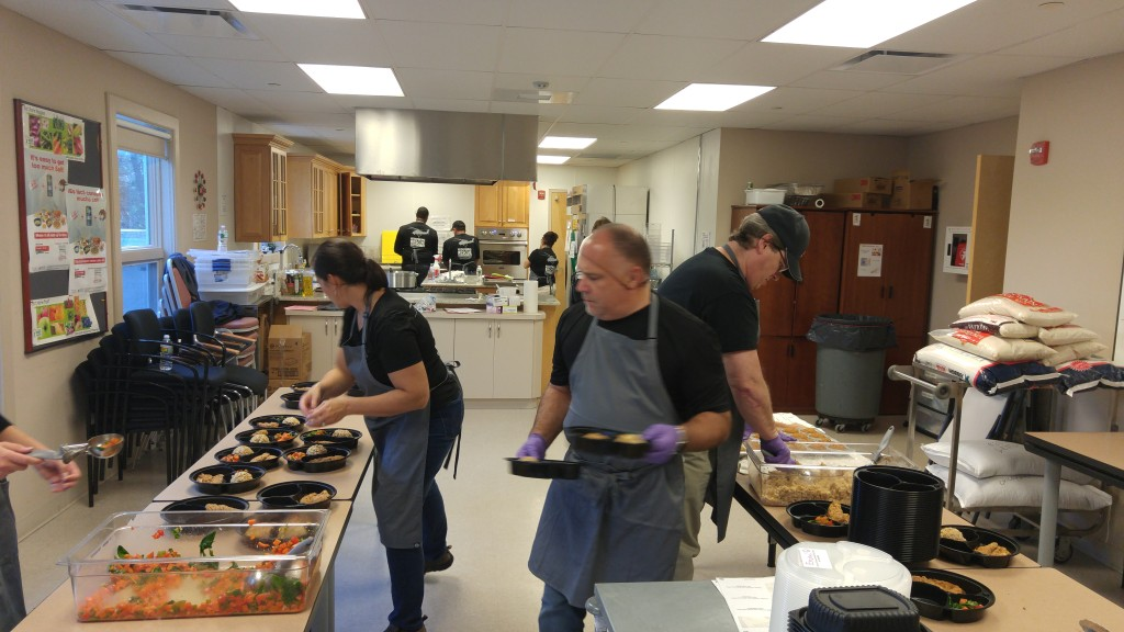 "Breeze Eastern Corp. preparing meals for home delivery for our ""Kitchen to Table program."