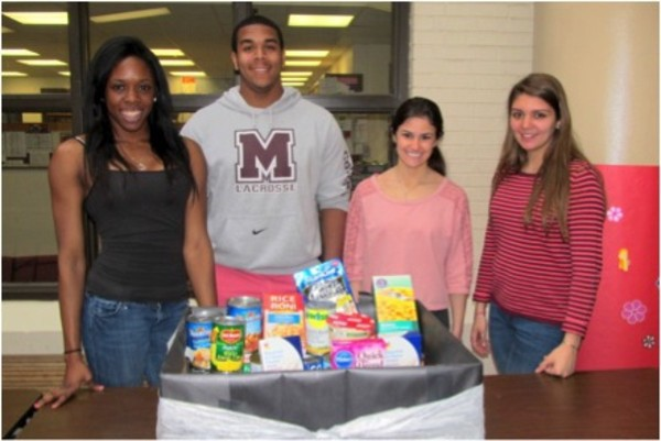 Morristown HS Students - Prom Food Drive