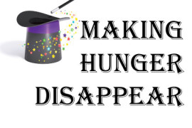 "Thanks for Helping ""Make Hunger Disappear"""