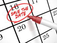 Fall Events Calendar