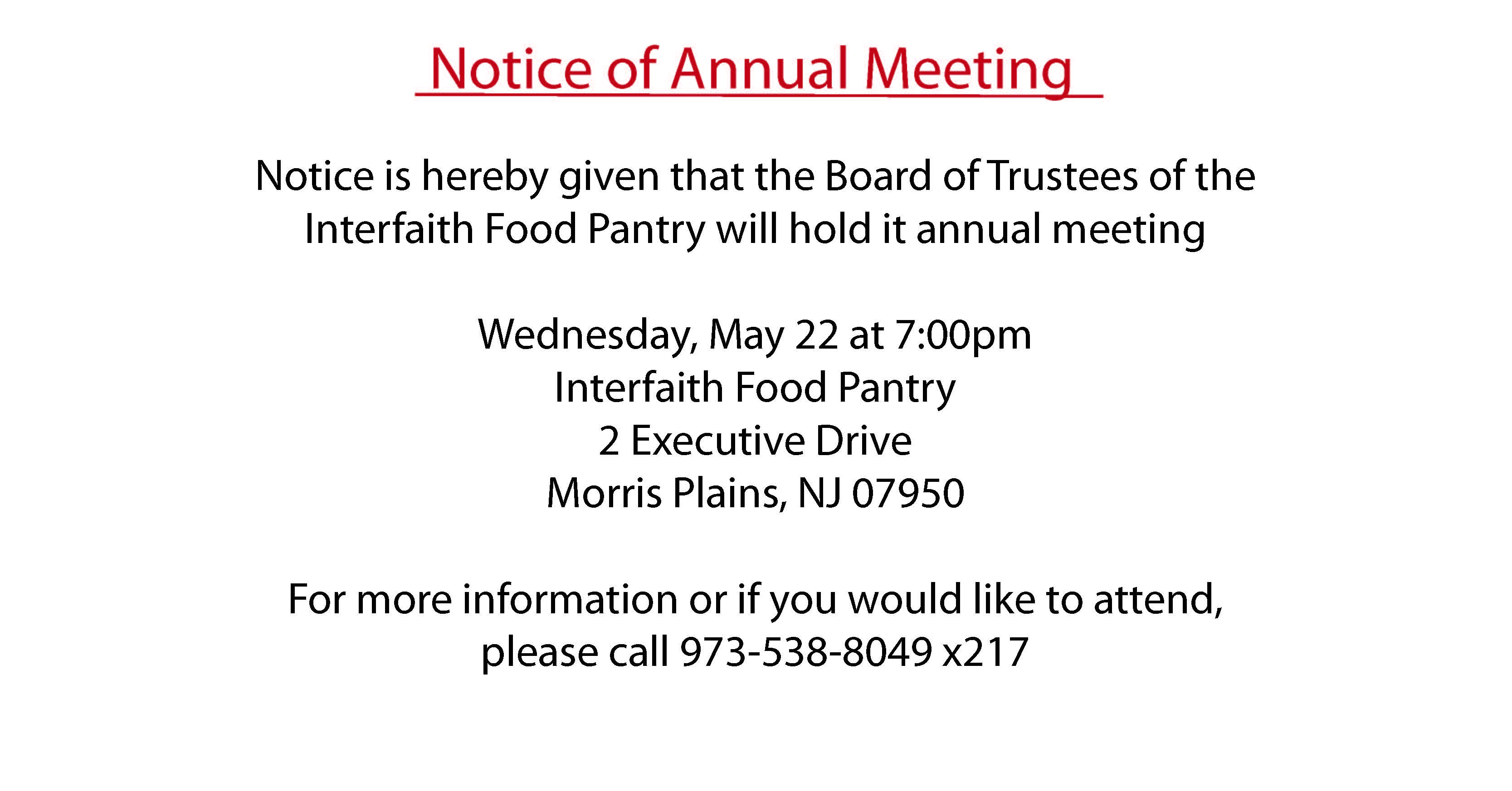notice-for-annual-meeting